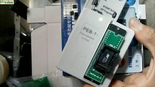 install RT809F programmer TEST EPROM .24...48