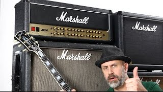 Can Marshall JVM410H sound like a Plexi?
