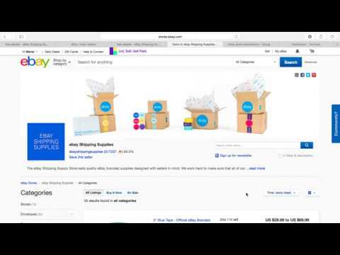 How To Access And Redeem Your Ebay Quarter Shipping Supplies Coupon