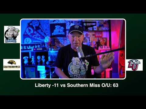 Liberty vs Southern Miss Free College Football Picks and Predictions CFB Tips Saturday 10/24/20