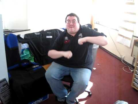 stephen bunting doing a peter griffin family guy as