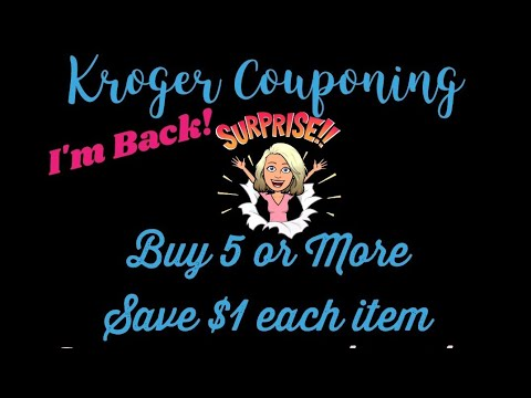 Couponing at Kroger | This Weeks Deals | Buy 5 Save 5! Digital Coupons!