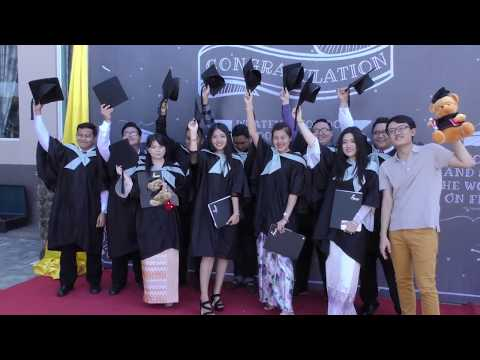 Chindwin College Myanmar HND Convocation 2017 Mandalay