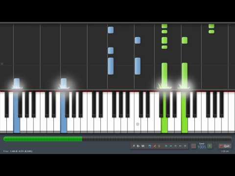 Linkin Park - Iridescent - Adrian Lee Version (piano tutorial)