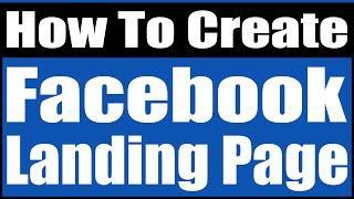 wie erstellen facebook landing-page
