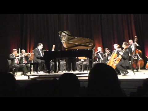 Piazzolla: Three Pieces for Piano and Chamber Orchestra I. Prelude