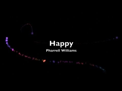 Pharrell Williams - Happy (12AM) with Lyrics 2013