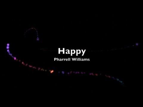 Pharrell Williams - Happy (12AM) with Lyrics 2013