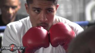 Jessie Vargas working on speed, power & combinations ahead of Pacquiao clash - Pacquiao v. Vargas