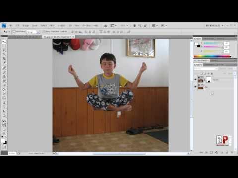 Photoshop CS4: Simple Levitation