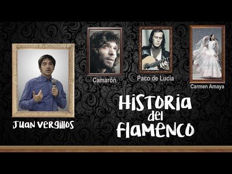 Historia del flamenco - Camarón, Paco de Lucía y Carmen Amaya