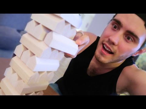 IMPOSSIBLE SHAPED JENGA GAME...
