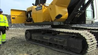 Excavadora de orugas Volvo EC170D: capacidad de servicio suprema