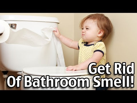 How To Clean A Toilet - Get Rid of Bathroom Smell!