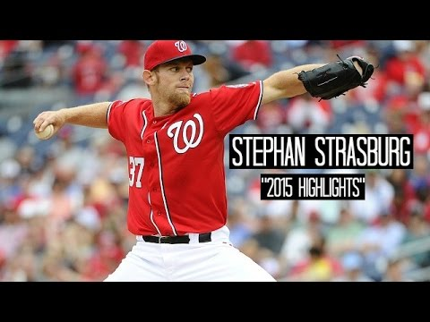 Stephen Strasburg | 2015 Nationals Highlights ᴴᴰ