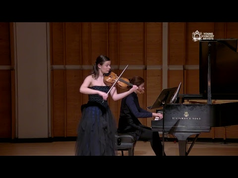 Bella Hristova in an Encore Performance on the Young Concert Artists Series at Merkin Concert Hall