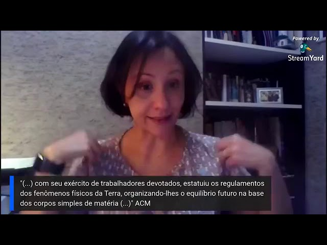"""Estudo Online: """"O Livro dos Espíritos"""" - Aula 09"""