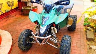 New loud exhaust for Quad Bike ! Sound - 2012 LE Suzuki LTZ 400 - Dzik w naturalnym srodowisku :)