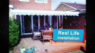 Awnings from Northampton based Martin's Blinds and Awnings