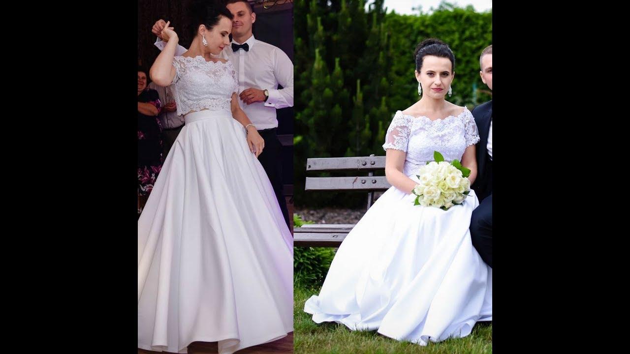 Suknia ślubna Dodatki Na Co Zwrócić Uwagę Przy Kupnie Youtube
