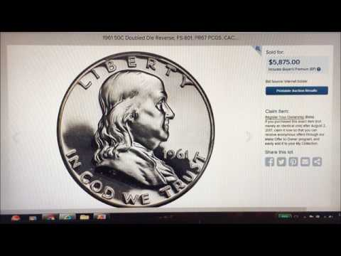 1961 BENJAMIN HALF DOLLAR SELLS FOR $5875 WHAT MAKES THIS SO SPECIAL??