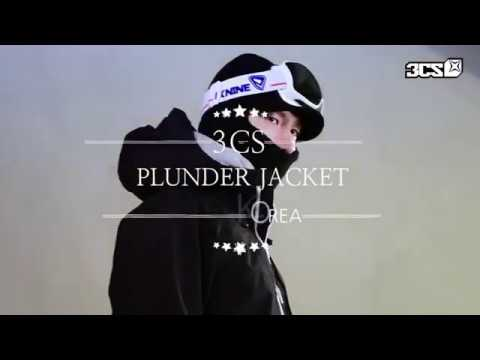 1718 3CS PLUNDER JACKET - BLACK