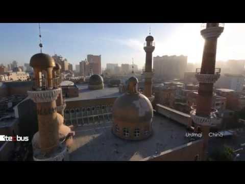 GH4(UHD)Aerial Video in Urumqi of China