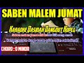 SHOLAWAT SABEN MALAM JUMAT KOPLO TERBARU 2020   SABEN MALAM JUMAT-Karaoke  Dangdut Koplo Korg Pa 700