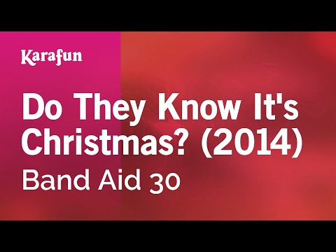 Karaoke Do They Know It's Christmas? (2014) - Band Aid 30 *