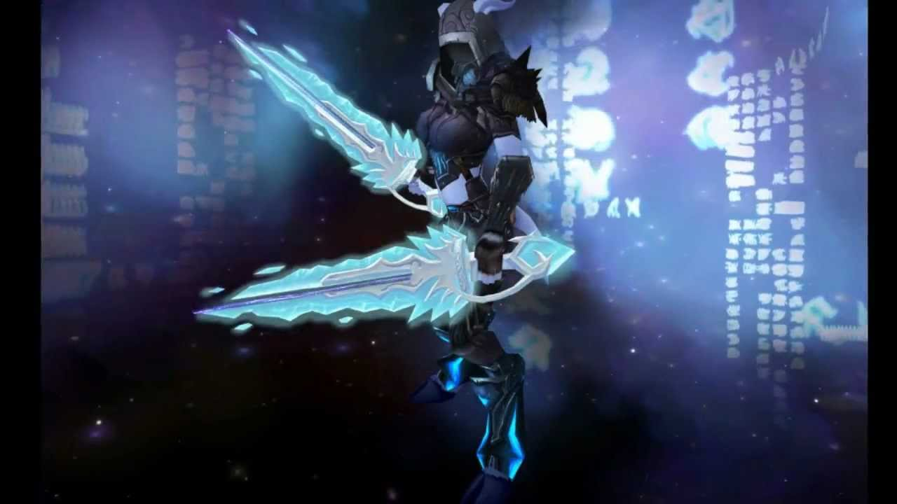 Dynes Notes Wow Loot Hunting Hailstorm The Ice Blade Of