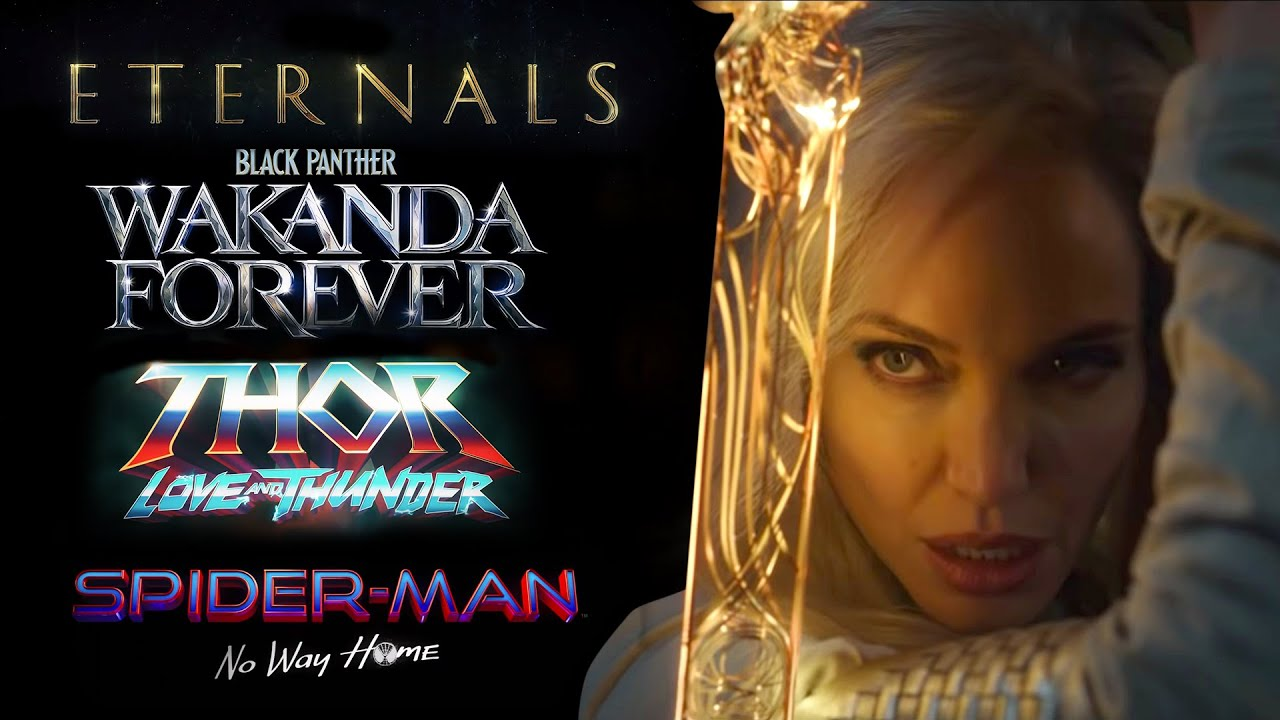 Download MCU Phase 4 Teaser Trailer (Eternals, Black Panther Wakanda Forever, Thor Love And Thunder)