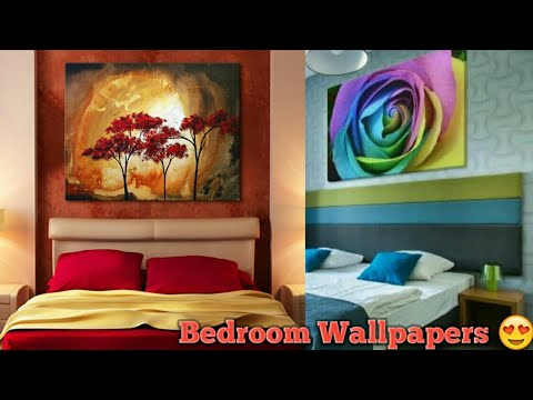 Top 100 Bedroom Wall Decorating Ideas | Latest painting colour combination For Bedroom 2019