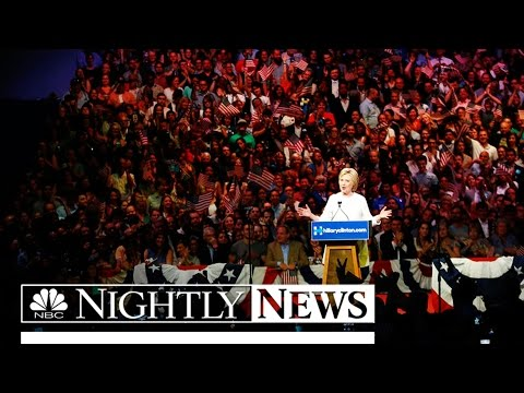 Hillary Clinton Becomes Nation's First Ever Female Nominee Of Major Party | NBC News
