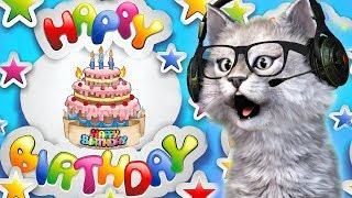 Happy Birthday SONG ❤️ Kucing Nyanyi Lagu Anak anak Lucu ❤️ Molly si Kucing Lucu