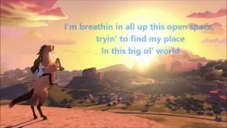 Maisy Stella - Riding Free (From Dreamworks' Spirit Riding Free) Lyrics(Subtitles with right lyrics)