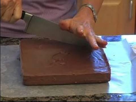 Homemade Chocolate Fudge Recipe : Cut Fudge