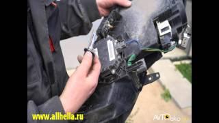 Полная инструкция по снятию и ремонту фар без снятия бампера MAZDA CX 7