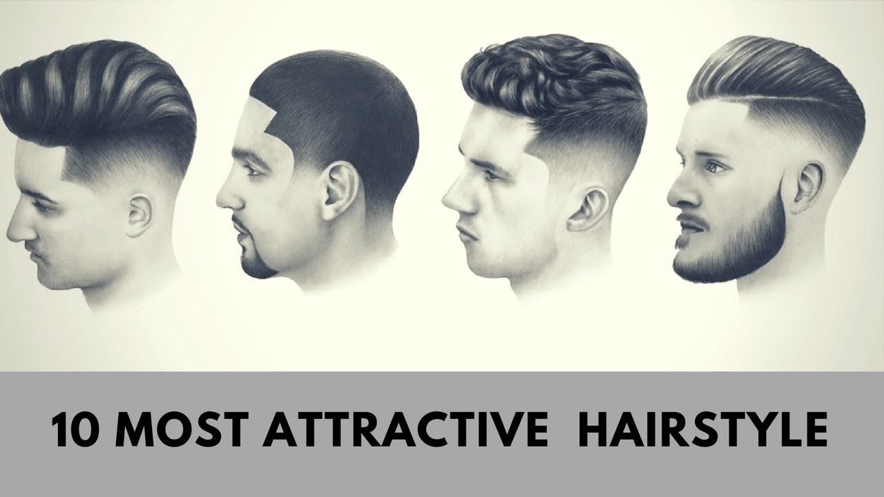 Top Fashionable Hairstyles For Men 2017 2018 Best Trendy: 10 MOST ATTRACTIVE MEN HAIRSTYLE
