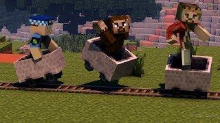 ARDA VE RÜZGAR KEREM KOMSER'DEN KAÇIYOR! 😱 - Minecraft