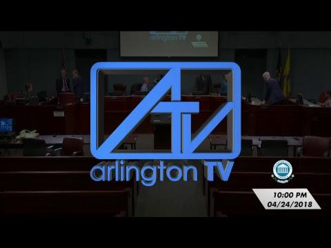 Arlington County Board Meeting - April 24, 2018