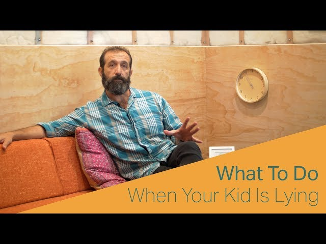What To Do When Your Kid Is Lying