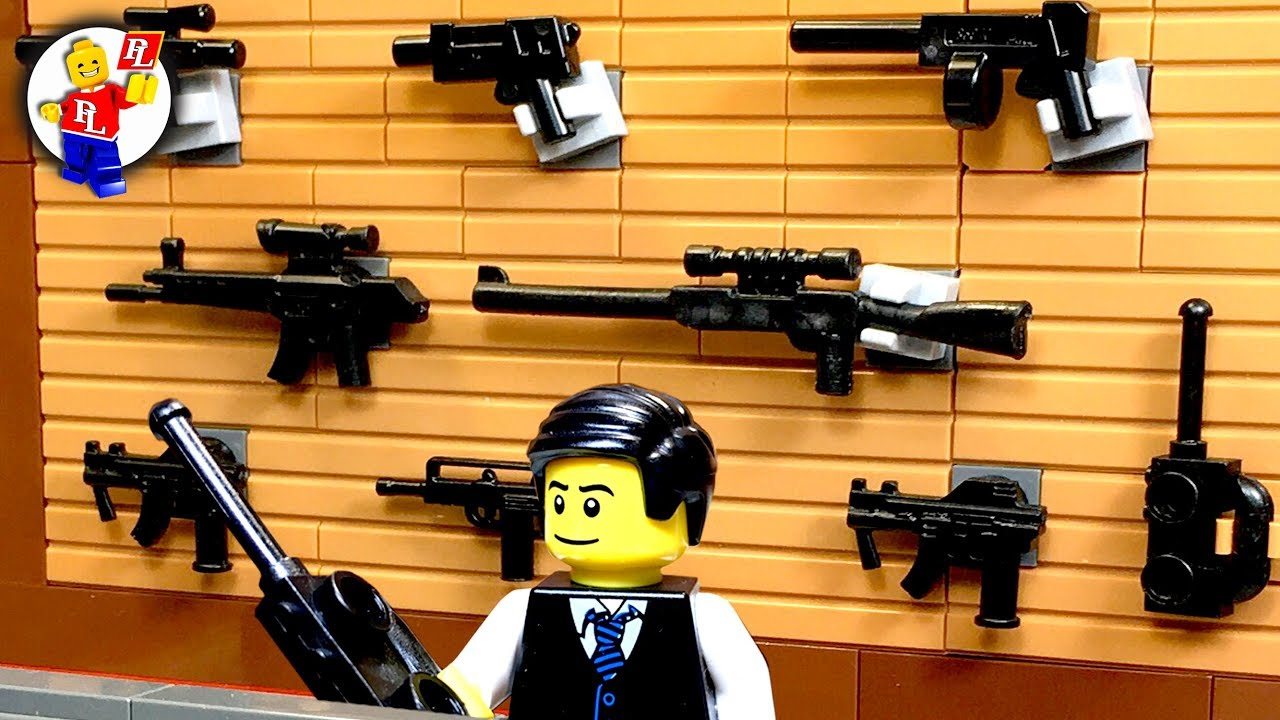 Lego SWAT 💣 The Gun Store Robbery