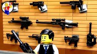 Lego SWAT 💣 The Gun Store Robbery