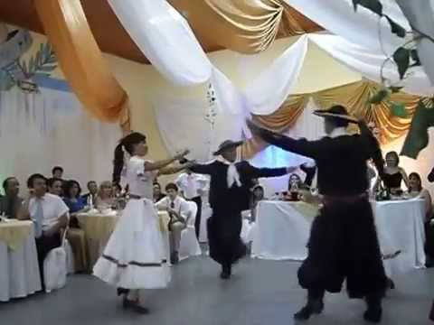 Traditional Argentinian wedding dance