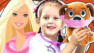ДОКТОР ПЛЮШЕВА Детский Врач и Ветеринар Doc McStuffins Toy Hospital Playset Видео для детей