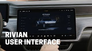 Rivian R1T / R1S User Interface (UI) - What we know now.