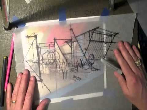 Architecture Design Concept Sketches university student center concept sketch development - bldd