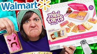 WOULD YOU EAT THIS? Testing Walmart Mini Tarts Pastry Set Craft Kit SaltEcrafter #58