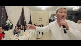 Калмыцкая свадьба. Аркадий Манджиев на свадьбе у племянницы на канале ZaanOnline