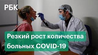 Коронавирус COVID 19 количество заражений резко растёт во всём мире